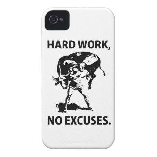 Hard Work Blackberry Case