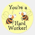 Hard Worker Reward Stickers
