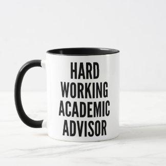 Hard Working Academic Advisor Mug