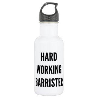 Hard Working Barrister 532 Ml Water Bottle