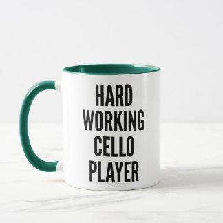 Hard Working Cello Player Mug