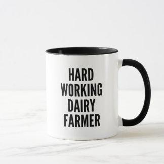 Hard Working Dairy Farmer