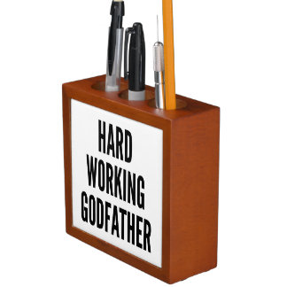 Hard Working Godfather Desk Organiser