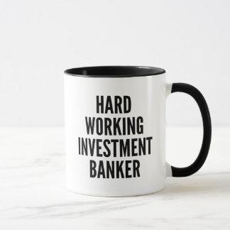 Hard Working Investment Banker Mug