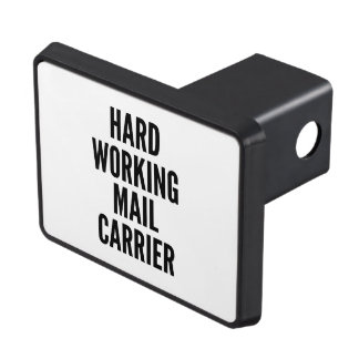 Hard Working Mail Carrier Hitch Covers