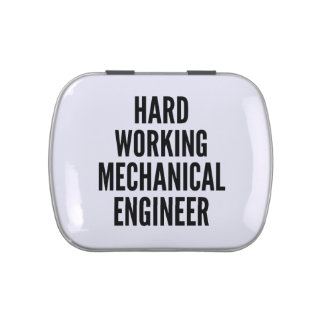 Hard Working Mechanical Engineer Jelly Belly Tin