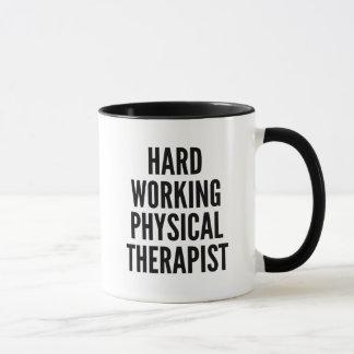 Hard Working Physical Therapist Mug