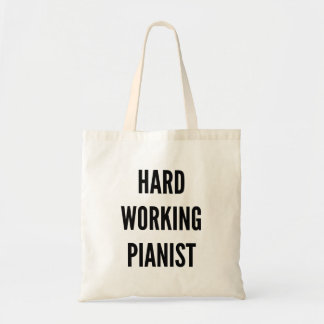 Hard Working Pianist