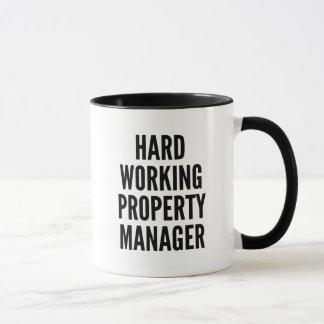 Hard Working Property Manager Mug