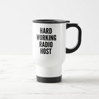 Hard Working Radio Host Mug