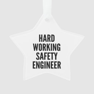 Hard Working Safety Engineer
