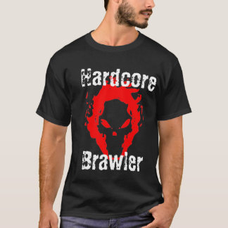 Hardcore Brawler Black T-Shirt