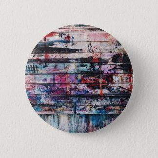 Hardcore, but not that hardcore 6 cm round badge