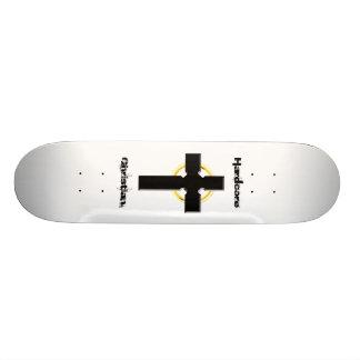 Hardcore Christian Celtic Cross 20 Cm Skateboard Deck