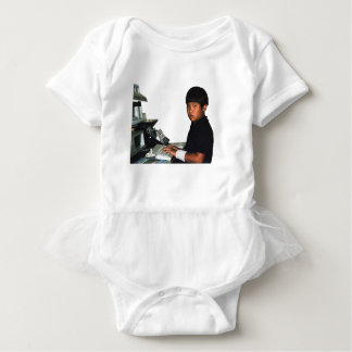 Hardcore Coder with Wristband Baby Bodysuit