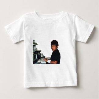 Hardcore Coder with Wristband Baby T-Shirt