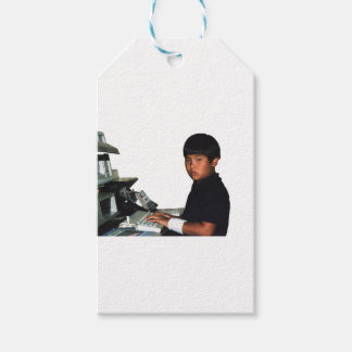 Hardcore Coder with Wristband Gift Tags