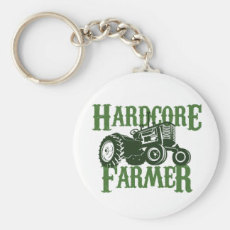 Hardcore Farmer Key Ring