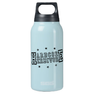 Hardcore Herbivore (blk) Insulated Water Bottle