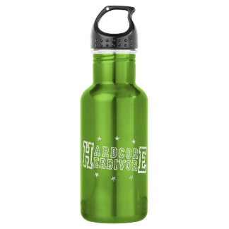 Hardcore Herbivore (wht) 532 Ml Water Bottle