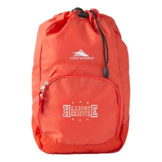 Hardcore Herbivore (wht) Backpack