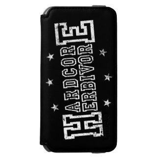 Hardcore Herbivore (wht) Incipio Watson™ iPhone 6 Wallet Case