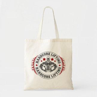 Hardcore Lifting Flexing Bodybuilder Tote Bag