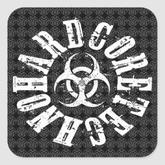 Hardcore Techno - Sticker
