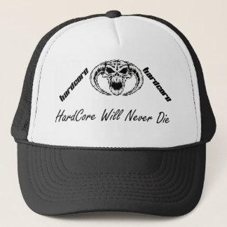 hardcore will never that trucker cap