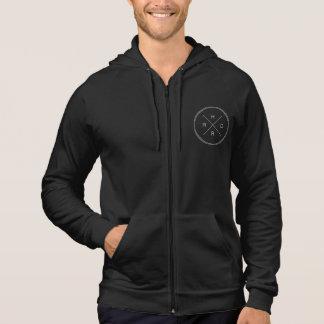 Harder.fi 2016 logo black hoodie