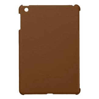 Hardily Earthy Brown Color iPad Mini Covers