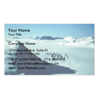 Harding Ice Field Above Skilak Glacier Business Card Templates