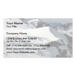 Harding Ice Field Business Card