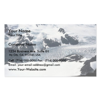 Harding Ice Field Business Cards