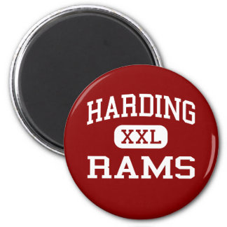 Harding - Rams - University - Charlotte Fridge Magnets