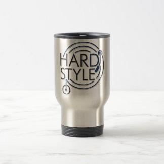 HARDSTYLE DJ - metal design Travel Mug
