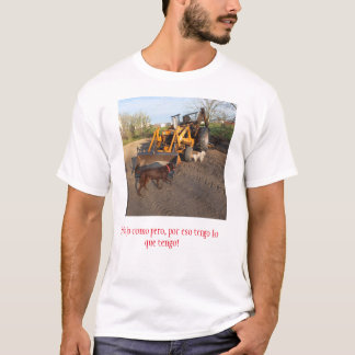 Hardworker t-shirt with a twist,
