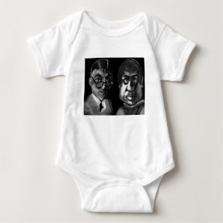 Hardy and Ramanujan Happy Pi Day Baby Bodysuit