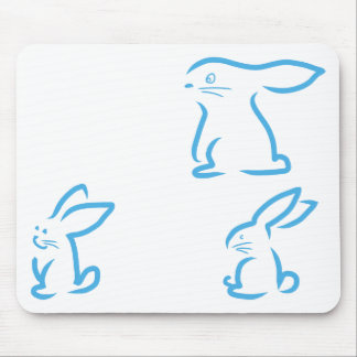 Hare #2 mouse pad