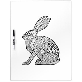 Hare Adult Coloring Dry Erase Board