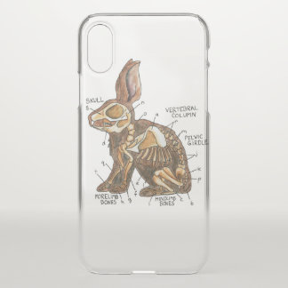 Hare Anatomy Phone Case