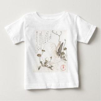 Hare and Dandelion, Kubo Shunman, Japanese Art Baby T-Shirt