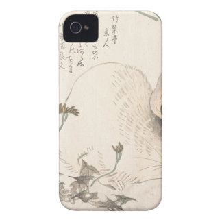 Hare and Dandelion, Kubo Shunman, Japanese Art Case-Mate iPhone 4 Case