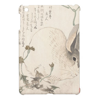 Hare and Dandelion, Kubo Shunman, Japanese Art iPad Mini Case