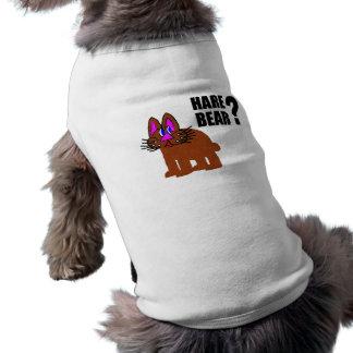 Hare Bear? Sleeveless Dog Shirt