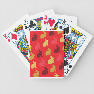Hare Bicycle Playing Cards