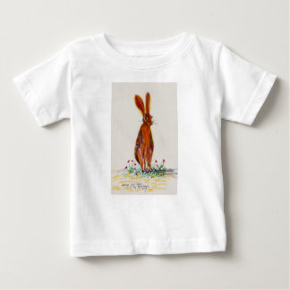 Hare in Poppies Baby T-Shirt