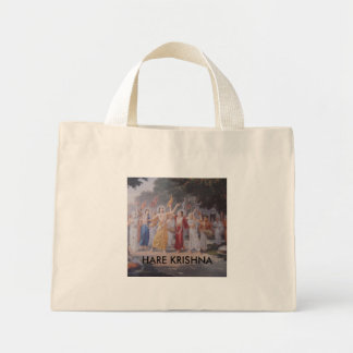 HARE KRISHNA MINI TOTE BAG