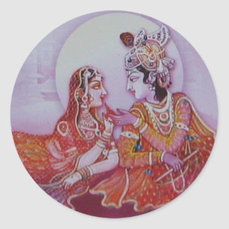 Hare Krishna Sticker