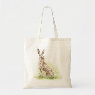 Hare Print Bag